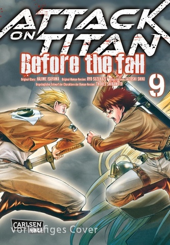 Attack on Titan Before the Fall 9