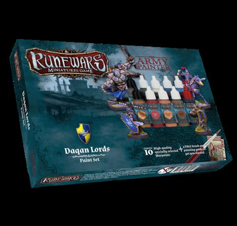 Runewars Miniatures Game Daqan Lords paint set