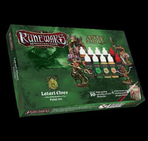 Runewars Miniatures Game Latari Elves paint set