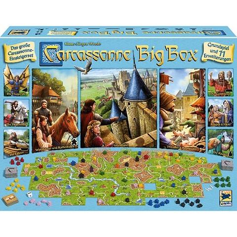 Carcassonne, Big Box 2017