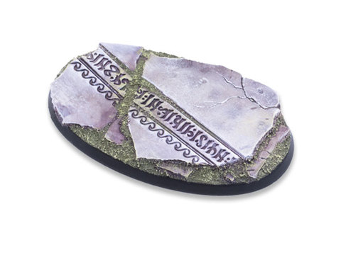 Ancestral Ruins Bases - 75mm Oval 1
