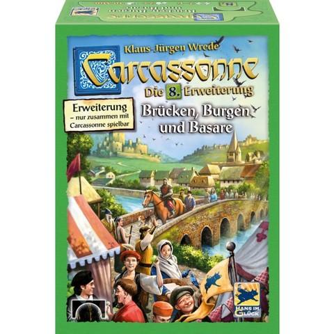 Carcassonne, Brücken,Burgen und Basare, Erweiterung 8 - Ü