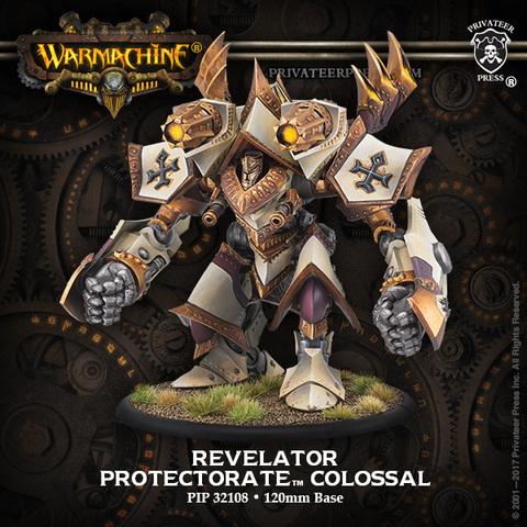 Judicator/Revelator – Protectorate of Menoth Colossal Kit (plastic)