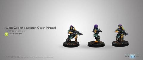 Kanrèn Counter-insurgency Group (Hacker) Blister