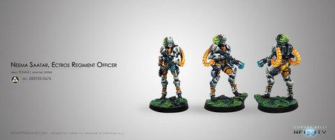 Neema Saatar, Ectros Regiment Officer (Spitfire) Blister