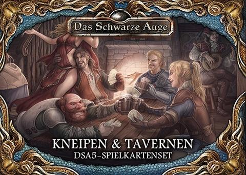 Spielkartenset Kneipen und Tavernen