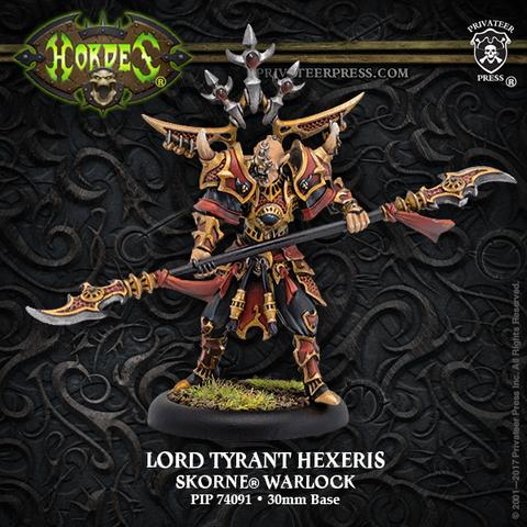 Skorne Lord Tyrant Hexeris Blister Pack