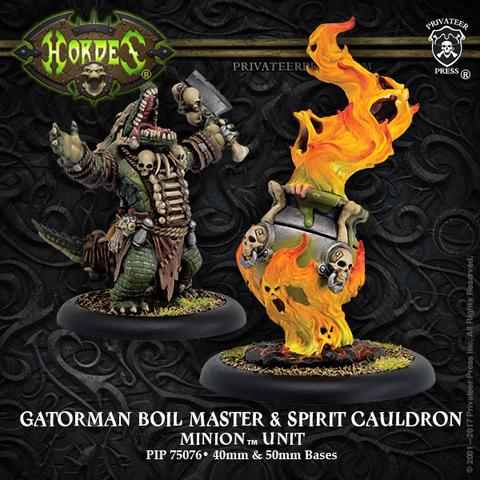 Minion Gatorman Boil Master & Spirit RESINBox