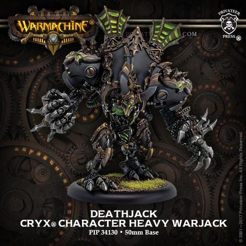 Cryx Deathjack Heavy Warjack RESIN Box Pack
