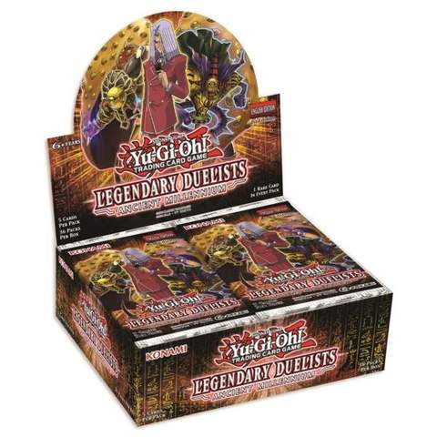 YGO Ancient Millennium Booster DE Fix36