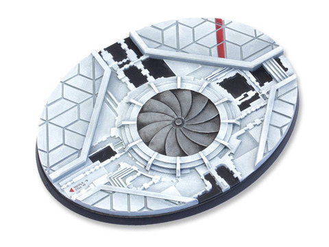 Starship Bases - 120mm Oval 1