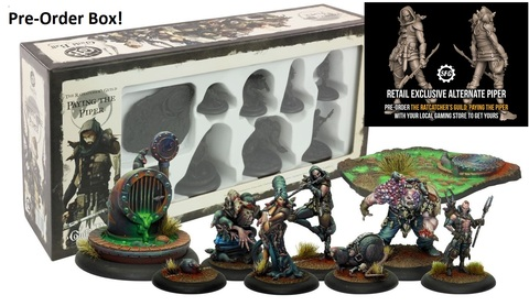The Ratcatcher's Guild: Paying the Piper Pre-Order Box + Retail Exclusive - Alternate Piper