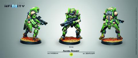 Asawira Regiment (Spitfire) Blister