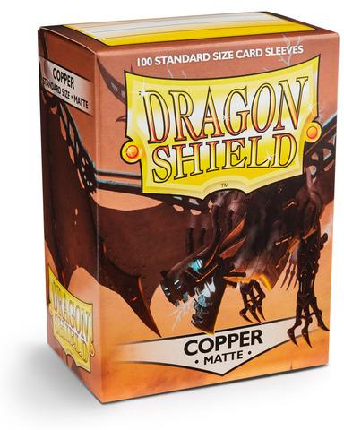 Dragon Shield Matte - Copper (100)