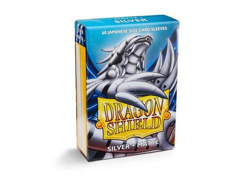 Dragon Shield Matte Japanese size - Silver (60)