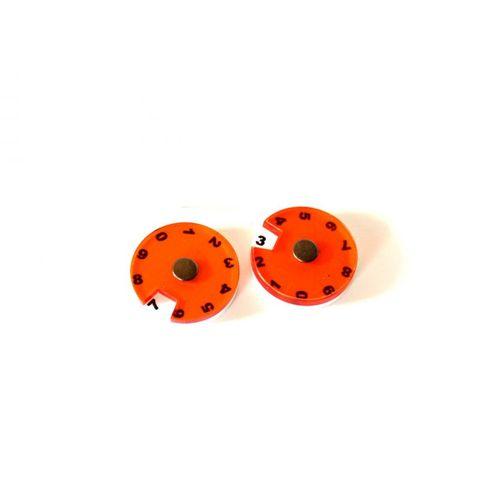 2 Simple Dials - Orange
