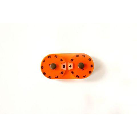 Double Dial - Orange