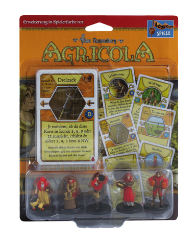 Agricola - Minis rot